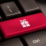 best tech gifts under $50 - picture of gift on keyboard