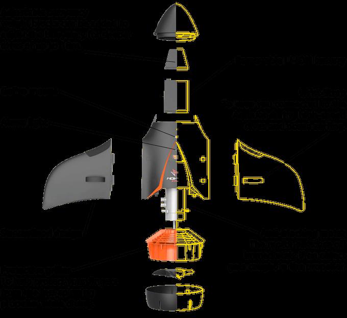 scuba scooter - design