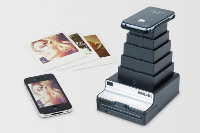 Polaroid Prints With The Impossible Instant Lab