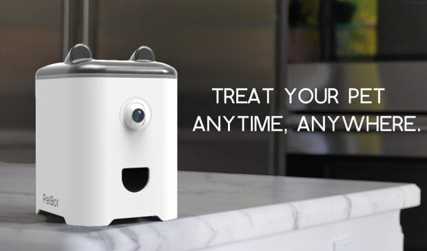 PetBot: The Robot for Pet Selfies and Treats
