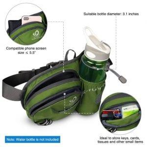 gym essentials - waist bag