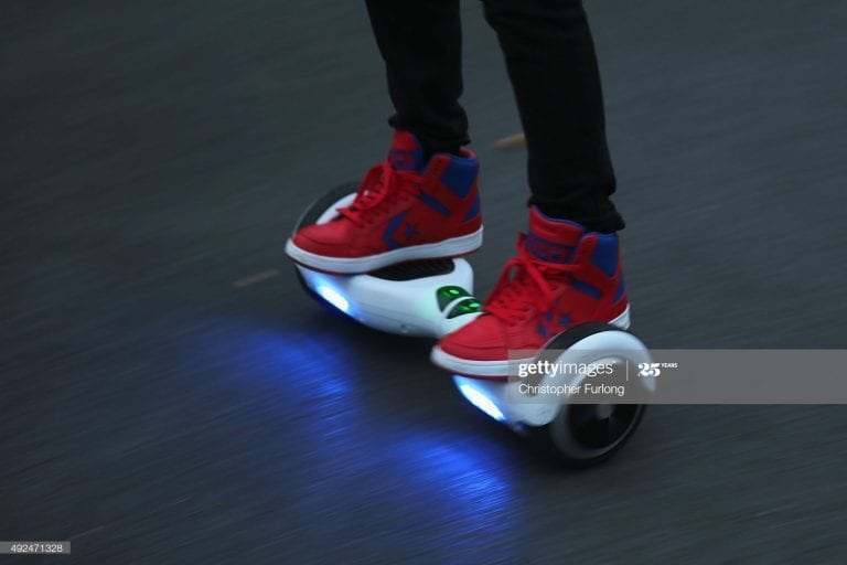 Hoverboards: Why Walk When You Can Fly?