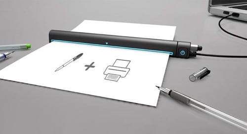 A Portable Printer for Smartphones