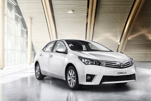 Toyota Corolla 2014 – Elevate your drive
