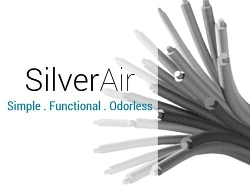 SilverAir: The Odorless T-Shirt