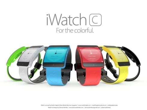 Apple iWatch C – For The Colorful