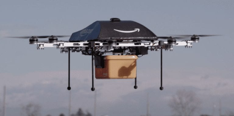 007 SKYFALL PIZZA – DELIVERY DRONES!