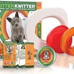 The Litter Kwitter Will Teach Your Cat How To Do Its Business Like Humans