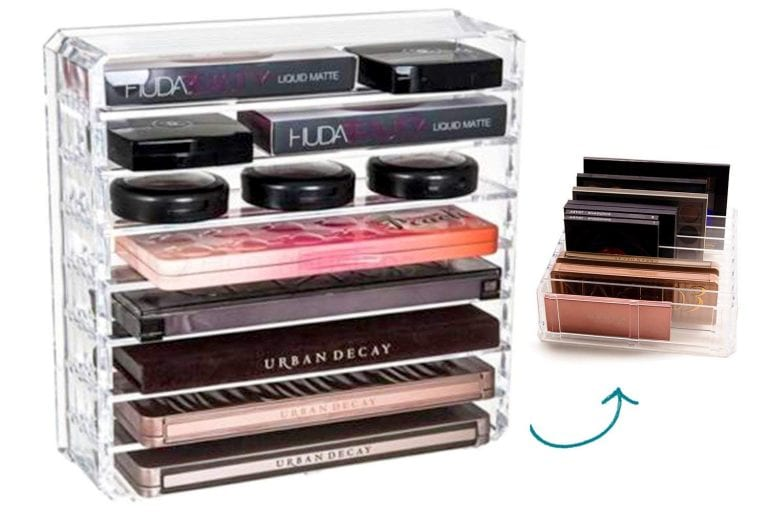 Makeup Organizers that Help You Create Celebrities' Ideal Makeup Station